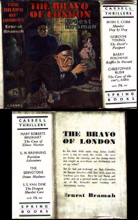 The Bravo Of London - first and only edition