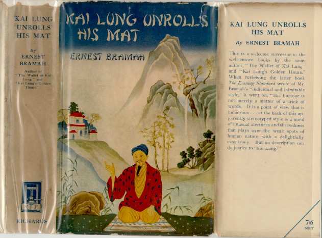 Kai Lung Unrolls His Mat - first edition